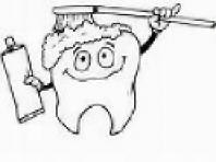 pulizia denti decidui